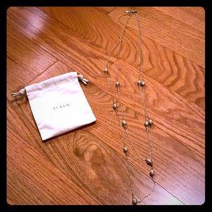 J. Crew double necklace